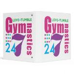 247 Gymnastics 3 Ring Binder