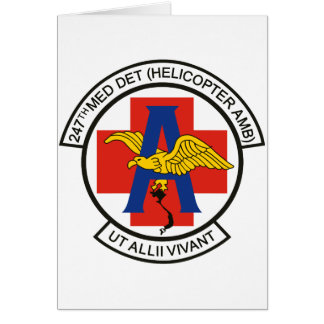 247th Med Det Card