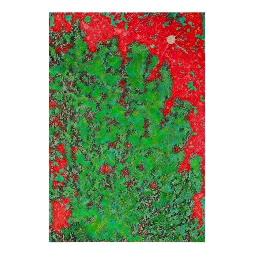 248 leavesontree-pastel2b-copya poster