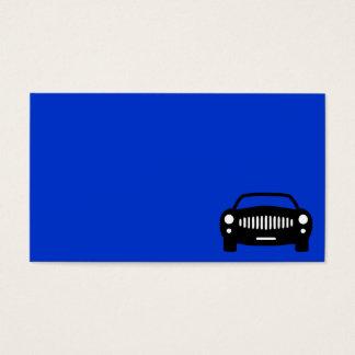 2491 BLACK CAR SILHOUETTE GROUND TRANSPORTATION RA BUSINESS CARD