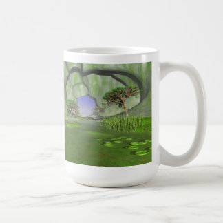#24-05 Paradise Cave: Green Shallow Water Garden Coffee Mug