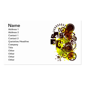 24/7/365 Double-Sided STANDARD BUSINESS CARDS (Pack OF 100)