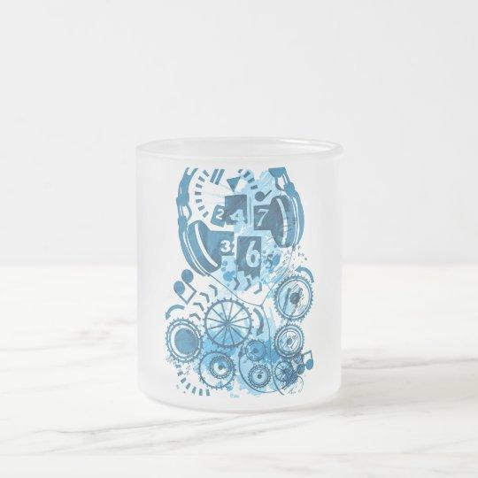 24/7/365 FROSTED GLASS COFFEE MUG