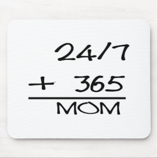 24-7 + 365 MOM MOUSE PAD