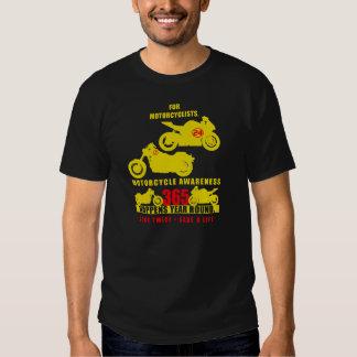24/7/365 - Motorcycle Awareness 2013 Shirt