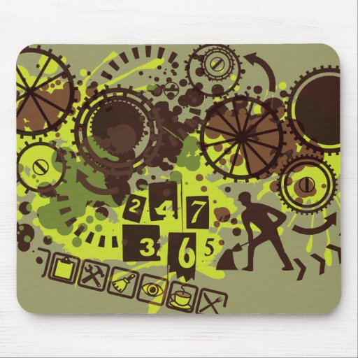24/7/365 MOUSE PAD