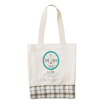 24/7/365 T1D Life HEART Tote