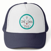 24/7/365 T1D Life Trucker Hat