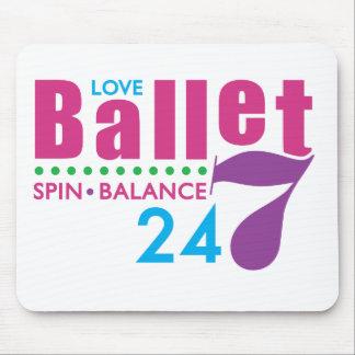 24/7 Ballet Mouse Pad