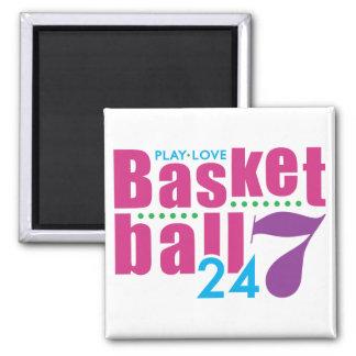 24/7 Basketball Magnet