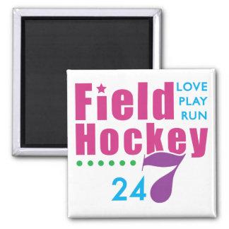 24/7 Field Hockey Magnet