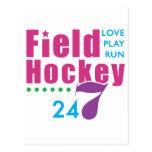 24/7 Field Hockey Postcards