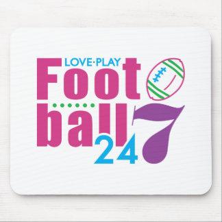 24/7 Football Mouse Pad