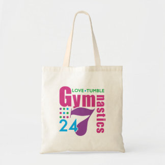 24 7 gimnasia bolsas lienzo