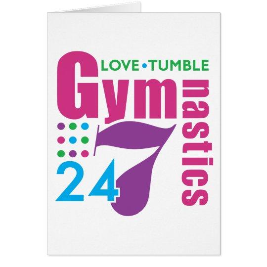 24/7 Gymnastics Card