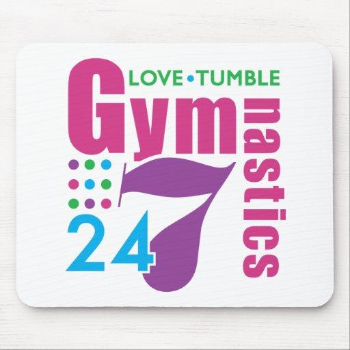 24/7 Gymnastics Mousepad