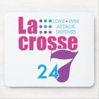 24/7 Lacrosse Mouse Pad