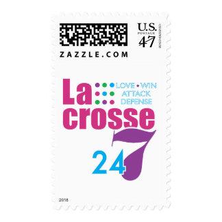 24/7 Lacrosse Postage