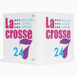 24/7 Lacrosse Vinyl Binder