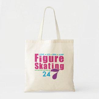 24 7 patinaje artístico bolsa de mano