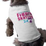 24/7 patinaje artístico camisa de perrito