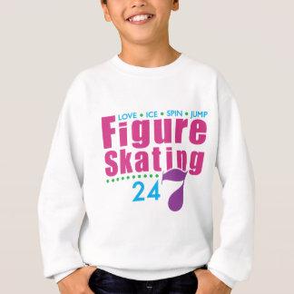 24/7 patinaje artístico sudadera