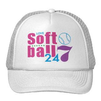 24/7 Softball Hats
