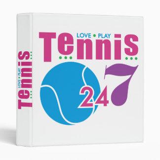 """24/7 tenis carpeta 1"""""""