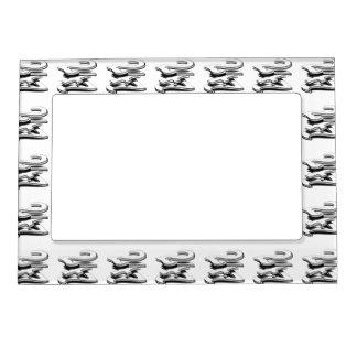 24 7 - Twenty-Four Seven - Black White Magnetic Frames