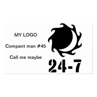 24 - 7 Twentyfour seven Business Card