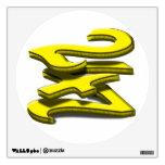 24 7 - veinticuatro siete - texto amarillo