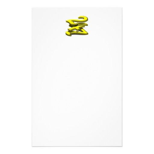 24 7 - veinticuatro siete - texto amarillo papeleria de diseño