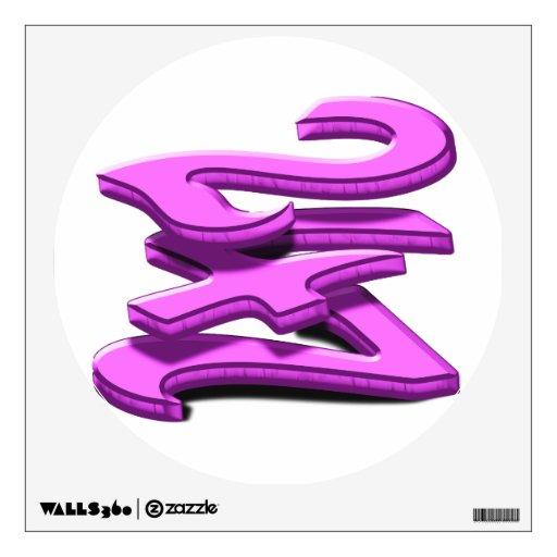 24 7 - veinticuatro siete - texto rosado