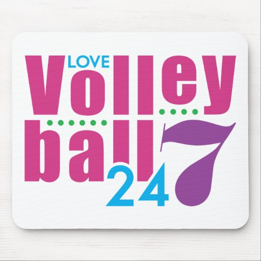 24/7 Volleyball Mouse Pad