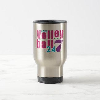 24/7 Volleyball Travel Mug