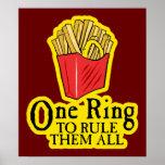 $24,95 Un anillo para gobernarlos todo el poster