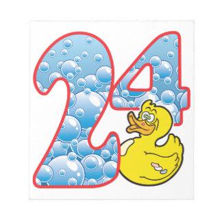 24 Age Duck Scratch Pads