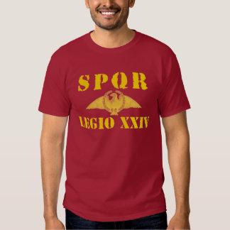 24 Ancient Rome's 24th Legion - Eagle T-shirt