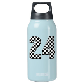 24 auto racing insulated water bottle