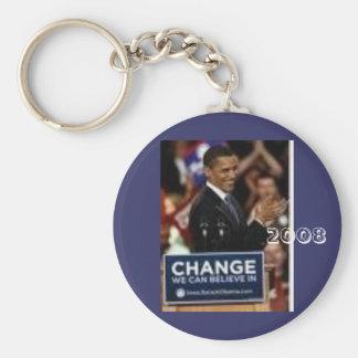 24 Barack Obama 2008 Llaveros