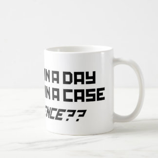 24 Beers In A Case - Funny Humour Comedy alcohol Coffee Mug