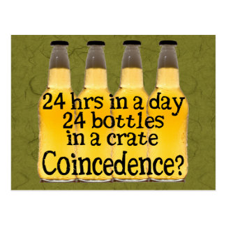 24 Bottles of Beer Postcard