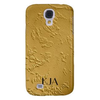 24 cajas del iPhone del oro del quilate personaliz Funda Para Galaxy S4