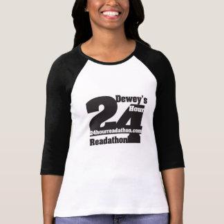 24 camisas de Readathon de la hora de Dewey Camiseta