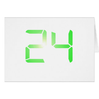 24 GREETING CARD
