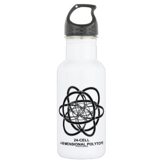 24-Cell 4-Dimensional Polytope (Geometry) Water Bottle