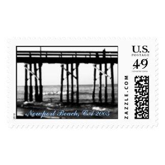 24 Cent US Postage Stamp Newport Beach, CA 2005
