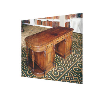 24:Desk by Thomas Chippendale Jr, 1805 Canvas Print