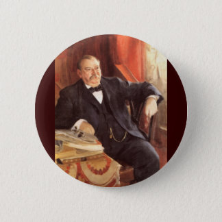 24 Grover Cleveland1 Pinback Button