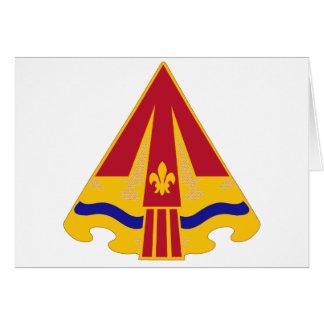24 grupos de la artillería de la defensa aérea tarjeta de felicitación